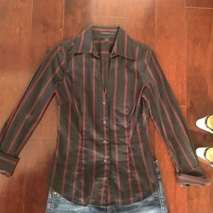NWOT Express Button Down Shirt. Size Small